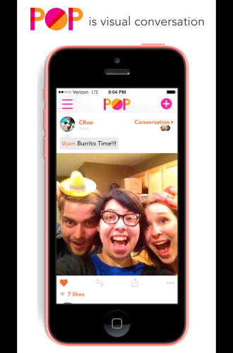 <p>Pop, a new mobile app from the makers of <a href=&quot;http://zeega.com/&quot; target=&quot;_blank&quot;>Zeega</a>, allows you to mix GIFs together in unexpected ways.</p>