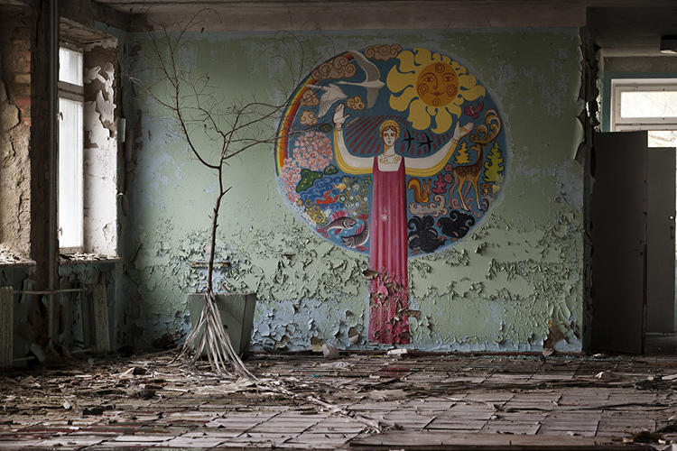 <p>That's certainly how Gerd Ludwig, an LA-based photographer, sees it, anyway. He's been into the Exclusion Zone several times, and even inside the sarcophagus itself.</p>