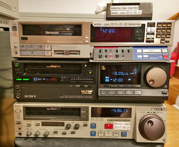 <p>In order to digitize each tape, it needs to be played by a cassette reader.</p>