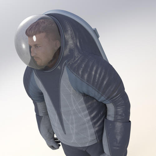 <p>The new Z-series suits are a big change from the past--unlike the current microgravity suits, which are basically designed for floating around in space, the Z-series is designed for walking.</p>