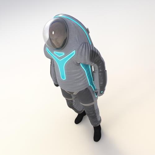<p>It also goes on differently: While the old suit is pulled on like a pair of pants and a shirt, the new version has a handy door built into the back so someone can climb inside.</p>