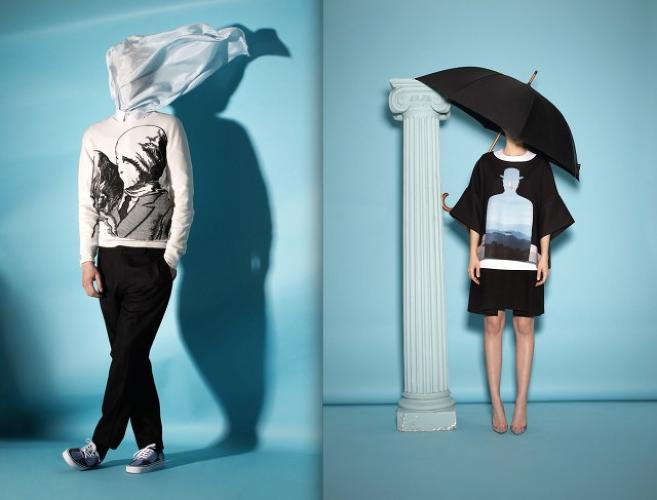 <p>In <a href=&quot;http://www.openingceremony.us/products.asp?menuid=2&amp;designerid=1993&amp;view=all&amp;main032414&quot; target=&quot;_blank&quot;>Opening Ceremony's wild new collection</a>, 12 of Rene Magritte's most famous images are plastered onto clothing.</p>