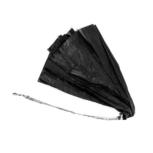 <p>Cheap black umbrellas are a staple in New York City rainstorms, especially this time of year: they magically appear for sale outside every subway station and in every bodega when the weather gets bad.</p>