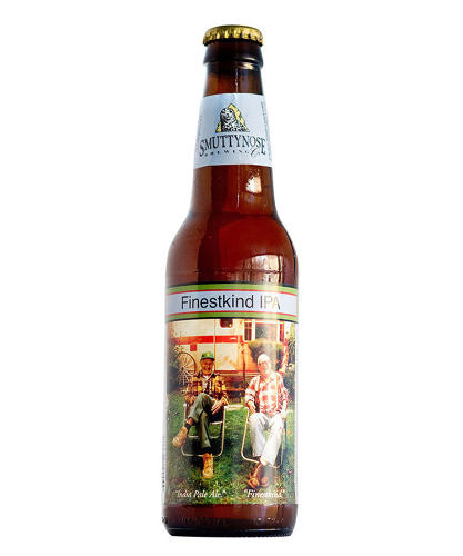 <p>Of the Smuttynose Finestkind IPA, he says that the &quot;old, disreputable geezers&quot; on the label &quot;don't represent sophisticated drinking.&quot;</p>