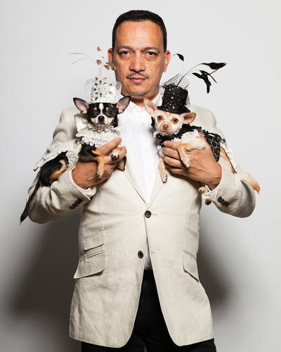 <p>Interviews reveal the owners humanize their pets to an alarming degree--some call them their soul mates or &quot;fur children.&quot; Here, dog couturier Anthony Rubio.</p>