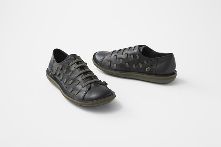 <p>Sato has now put his own, pared down spin on one of the marquee Camper products: the Beetle shoe.</p>