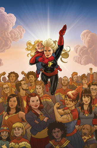 <p>Of her role as one of comics' most buzzed-about writers, DeConnick says &quot;it's important to show up every day. You don't wait for the muse to write--you don't get to do that.&quot;</p>