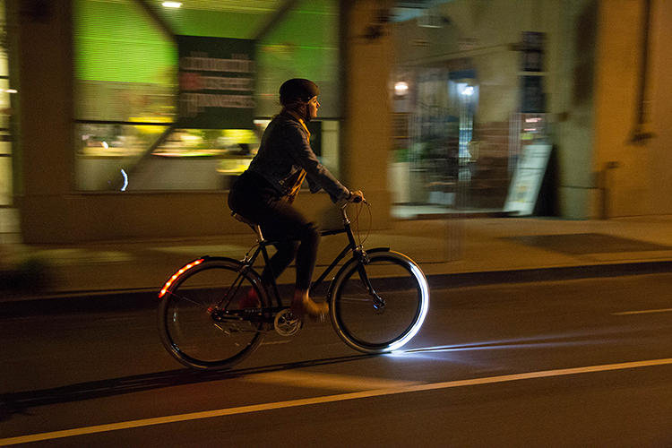 <p>The Arc is the newest wheel-mounted bike light from Revolights.</p>