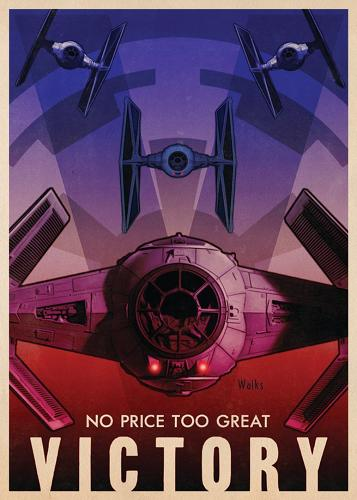 <p>George Lucas's <em>Star Wars</em> films have always borrowed their inspiration old sci-fi movie serials.</p>