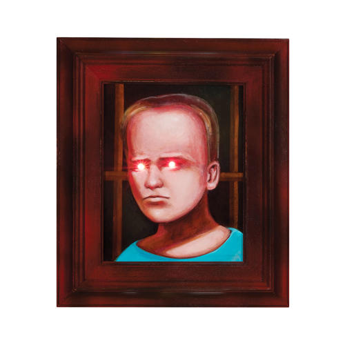 <p>&quot;When I first came upon the legend of the &quot;<a href=&quot;http://en.wikipedia.org/wiki/The_Hands_Resist_Him&quot; target=&quot;_blank&quot;>Haunted Painting of eBay,</a>&quot; it struck me as a metaphor for the power of superstition as it relates to an image,&quot; writes Gregg Gibbs. &quot;How could a painting have such an effect on an individual as to make mere coincidence seem paranormal? I discovered that the artist, Bill Stoneham, never intended to create a haunting. He himself is baffled by the phenomenon. Many people project special powers onto paintings and other totemic objects as a way of making sense of the mysteries of the universe. In that way, every painting is haunted by the artist who creates it.&quot;</p>