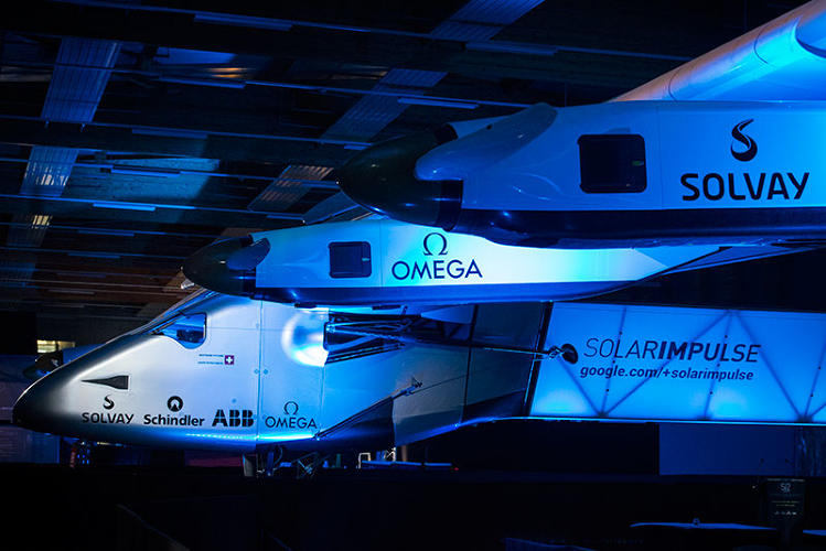 <p>Next year, the Solar Impulse 2 will attempt to fly all the way around the world.</p>