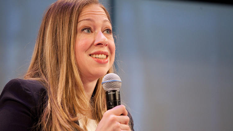 <p><a href=&quot;http://www.fastcompany.com/3028155/chelsea-clinton-makes-her-move&quot; target=&quot;_self&quot;>Chelsea Clinton</a>, the keynote speaker, discussed entrepreneurship, innovation, and empowerment. &quot;Investing in women and girls is not only the right thing to do but the smart thing to do,&quot; she said.</p>