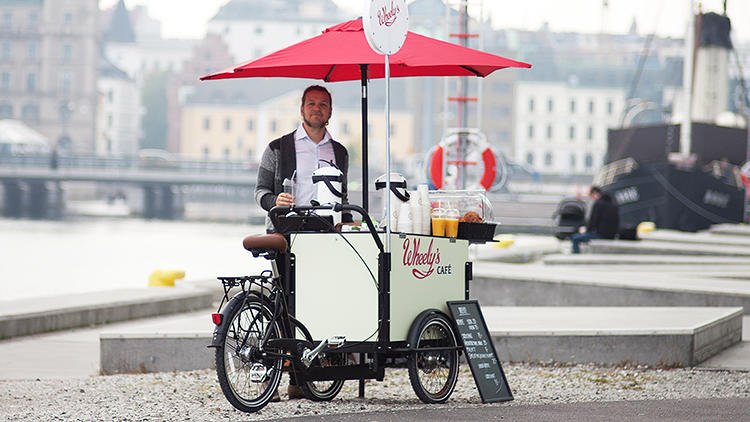 <p>Could this mobile coffee cart brand challenge the dominance of Starbucks?</p>