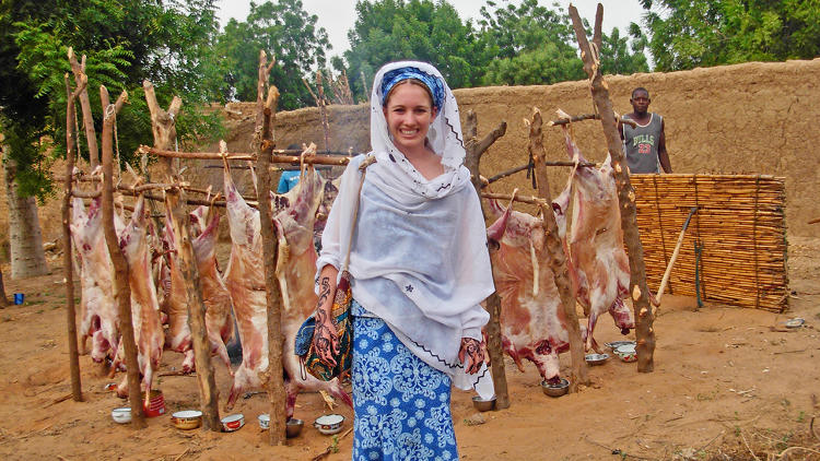 <p>Curtis discovered moringa while volunteering with the Peace Corps in 2010.</p>