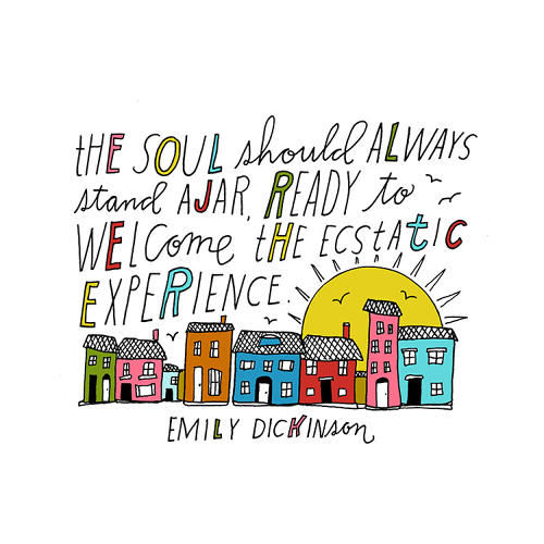 <p>In <em>Whatever You Are, Be a Good One,</em> Oakland, California-based illustrator <a href=&quot;http://lisacongdon.com/&quot; target=&quot;_blank&quot;>Lisa Congdon</a> whimsically hand-letters 100 quotes from creative thinkers.</p>