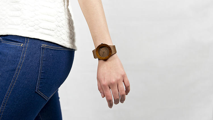 <p>On May 13, 24 Kickstarter-funded items--like the Carpenter Watch seen here--from 20 different international designers will be available for purchase at the Museum of Modern Art's Design Store.</p>