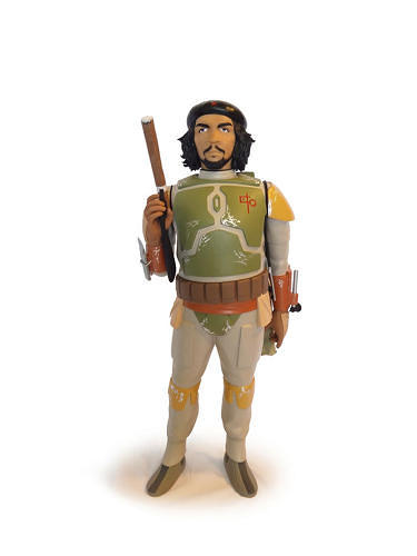 <p>Che Guevara as Boba Fett.</p>