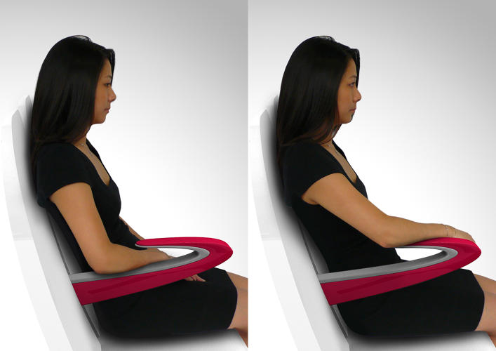 <p>Armrest design is second to everything for the airline industry, which clearly doesn't give two hoots about the unpleasantness of touching your neighbor's elbows and, worse, encountering his or her sweaty skin.</p>