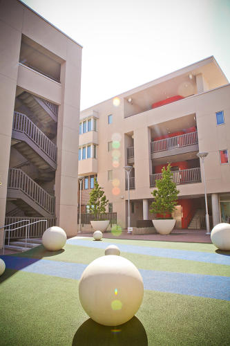 <p>Hunters View, a revitalized public housing development that just opened this past April, is a unique attempt to ensure the security of low-income San Franciscans with quality housing and services to help out with daily life.</p>