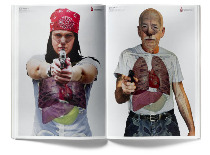 "<p>&quot;Where traditionally a person on a target was anonymous, now everything is possible,"" says Erik Kessels, who publishes <em>Useful Photography</em>, an Amsterdam magazine that collects everyday images. It pulled together several decades of targets from some of the tens of thousands of shooting ranges in the U.S. for its most recent issue.</p>"