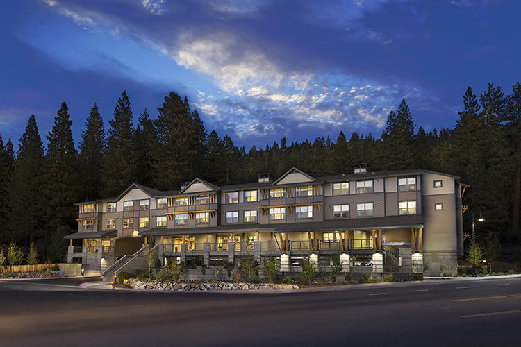 <p>YHLA Architects designed a network of nine LEED-certified apartment buildings on the shore of Lake Tahoe. The 77 apartments provide housing for low-income workers and their families.</p>