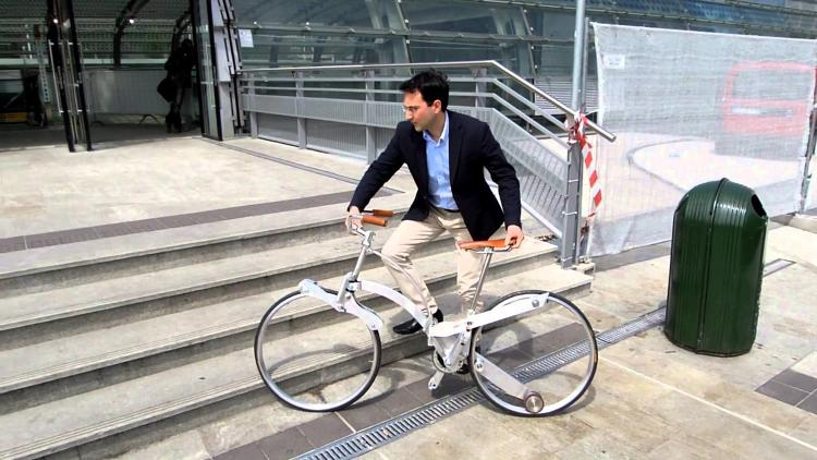 <p>How small can a folding bike become without sacrificing the ability to ride comfortably?</p>