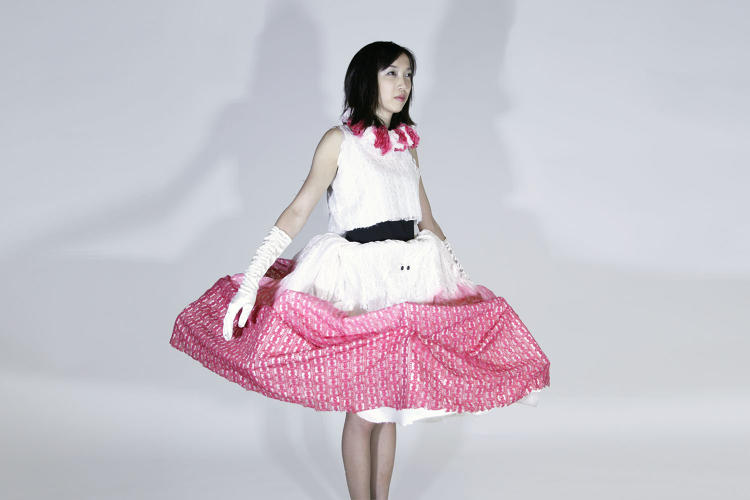 <p>Kathleen McDermott's &quot;Personal Space Dress&quot; is an article of clothing that physically expands the wearer's personal space.</p>