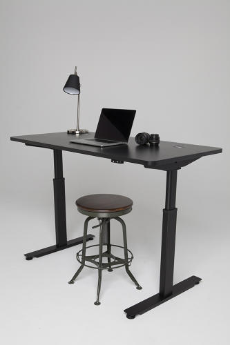<p>The adjustable standing desk allows you to mix up your posture throughout the day, but top models cost as much as $1,600.</p>