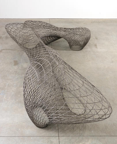 <p>On display now, at the Friedman Benda gallery in New York, are elegant sculptures manufactured with the technique.</p>
