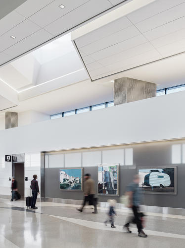 <p>SFO's newly renovated Terminal 3 Boarding Area E (T3BAE, the United Airlines space) takes what's been done before, weaves it together, and pushes forward.</p>