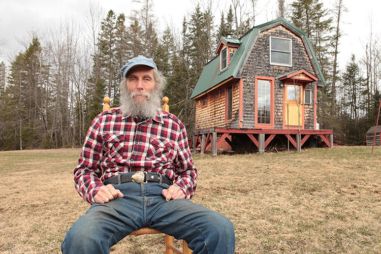 <p>The bearded man on all Burt's Bees product is actually a real person. Meet Burt Shavitz.</p>