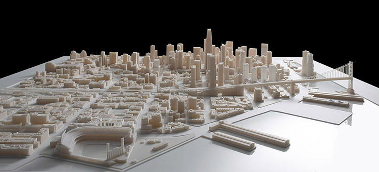 <p>Its recently revealed model shows the city as it is projected to look in 2017.</p>