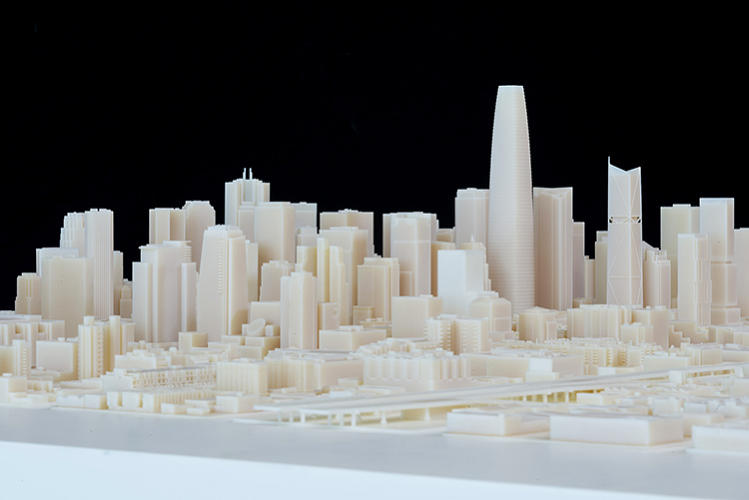 <p>The design software company, Autodesk, has 3-D printed the future of San Francisco.</p>