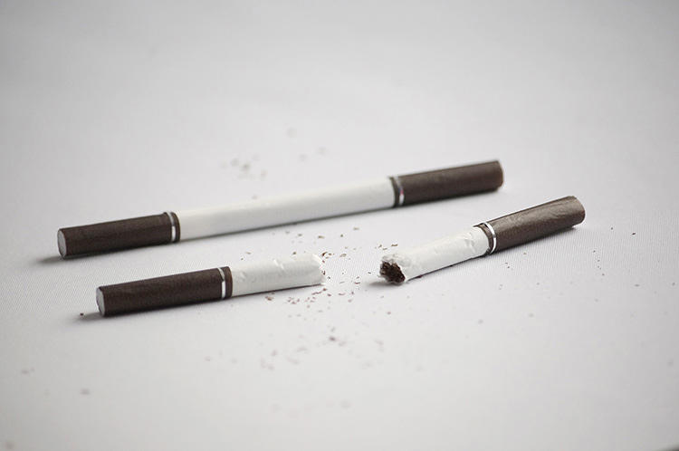 <p>Taiwanese designer Yi-Wen Tseng created four new versions of a new cigarette designed to get people to think twice before lighting up.</p>