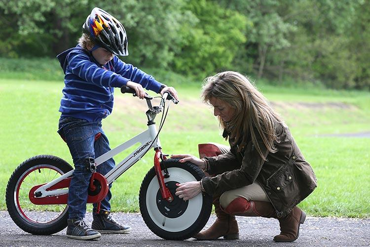 <p>For kids, it's a way to learn how to ride a bike in an hour or two.</p>