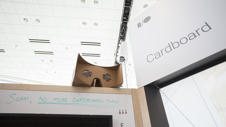 <p>Google ran out of Cardboard units to distribute.</p>