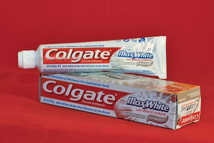 <p>Colgate was tied for fourth, along with Wrigley's, Disney, and Zippo.</p>