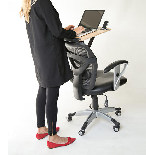 <p>You want to try one those new standing desks everyone's talking about. What are your options?</p>