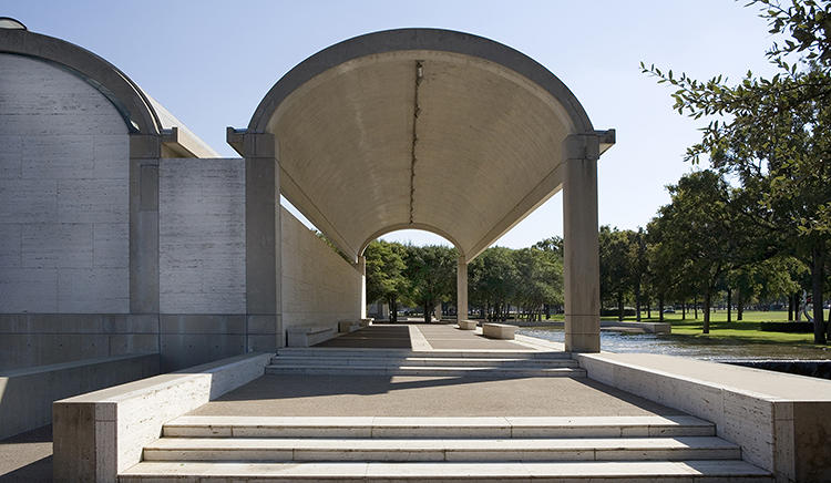 <p>Kimbell Art Museum in Fort Worth, Texas</p>