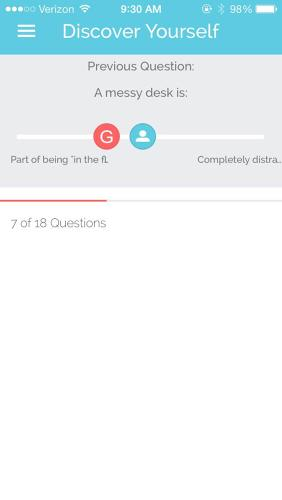 <p>Good.Co's web app, released a year ago, offered up an array of quizzes to help users evaluate their own personalities, compare scores with friends and colleagues, examine culture fit with companies and managers, and discover their work team's personality.</p>