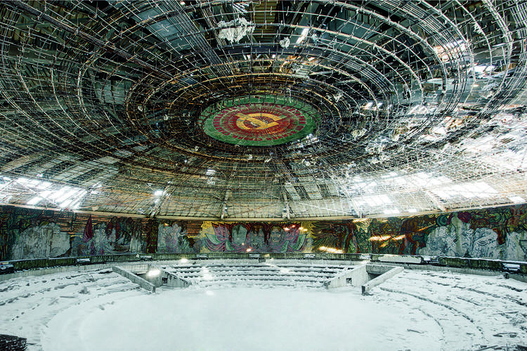 <p>British photographer Rebecca Litchfield explored abandoned and top-secret structures for her latest book, <em>Soviet Ghosts</em>.</p>