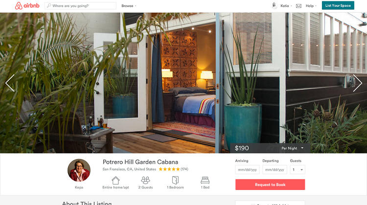 <p>Airbnb's designers have also overhauled the site with new iconography and typography, to bring a level of consistency to host listings.</p>
