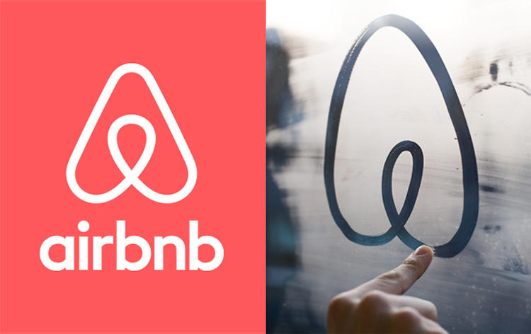 <p>The company's new &quot;Bélo&quot; symbol, which resembles a paperclip stretched out in the style of an A-shaped birdhouse. The logo was designed to be completely customizable: It's so simple that anyone can draw it, but also so basic that it's not likely to be drawn the same way twice, a reflection of Airbnb's unique community of hosts. &quot;It's a symbol anyone can create, whether drawn on a mirror or etched in the sand,&quot; CEO Brian Chesky explains.</p>