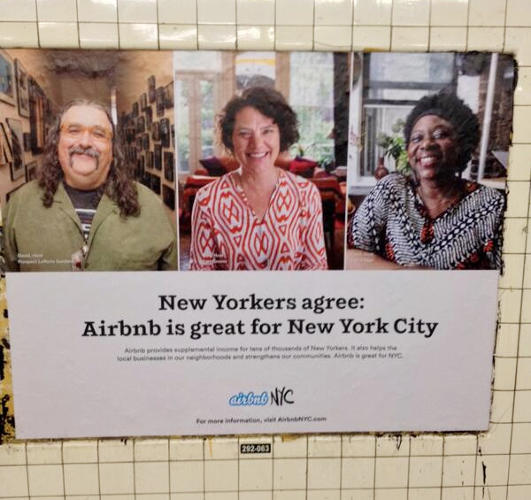 <p>An Airbnb ad without commentary.</p>