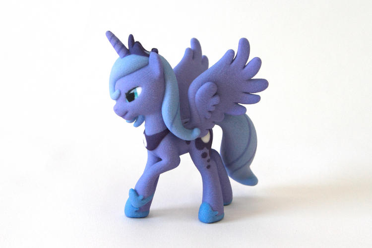 <p>Hasbro and 3-D printing marketplace Shapeway aren't going after the legions of fans who made G.I. Joe or Transformers into Hollywood blockbusters, but instead are starting with the enormous but uncomfortably bro-ish My Little Pony community.</p>