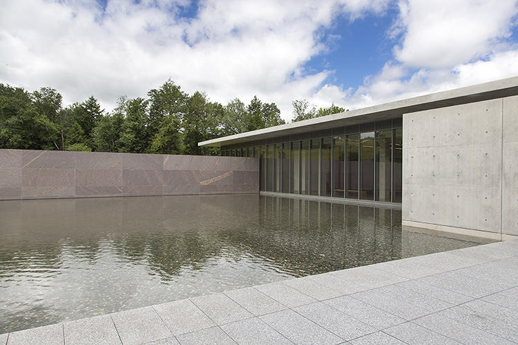 <p>At first glance, the one-acre reflecting pool at the newly-renovated Sterling and Francine Clark Art Institute in Massachusetts, looks like an egregious, wasteful way to use water, especially in a time of drought.</p>