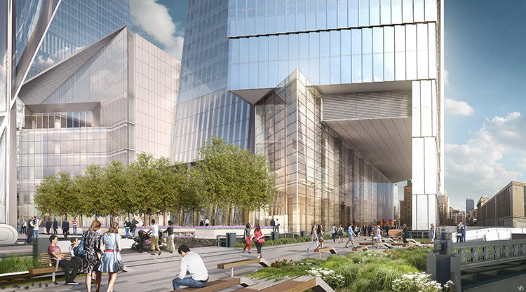 <p>The challenge of attracting top office tenants shaped design and planning of the project, with the mix of uses aimed at appealing to a new generation of workers, says Jay Cross, president of Related Hudson Yards, the private real estate developer leading the project.</p>
