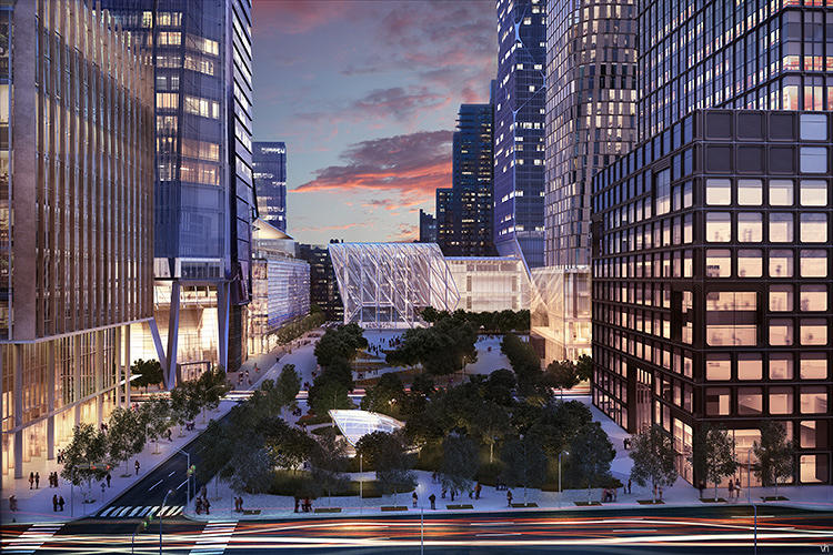 <p>The mix echoes the growth of the larger neighborhood of the West Side of Manhattan, a 400,000-person population area bounded by Columbus Circle and Tribeca to the north and south, and 8th Avenue and the Hudson River to the east and west.</p>