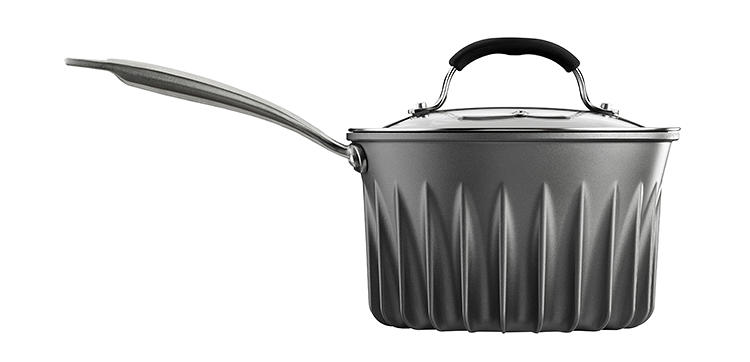 <p>For many people, the most obvious draw of the pots and pans might be the fact that you can cook much faster with them--in tests, water came to a boil 3.3 minutes faster than in a normal pot. But the energy savings are also surprisingly large.</p>
