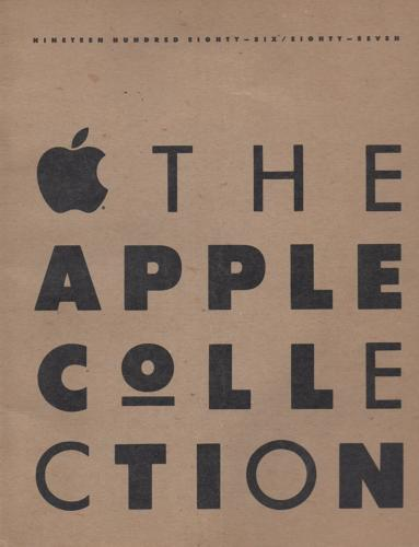 <p>The Apple Collection was the company's 1986 attempt at selling clothing through their catalog.</p>